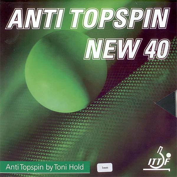 Toni Hold New Anti Topspin 40