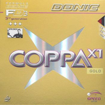 Donic Coppa X1 Gold 2er Sparset